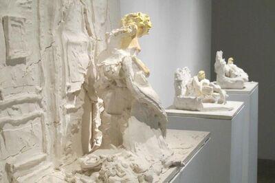 Urs Fischer, ' Stehende, Sitzende, Liegende (group of three sculptures for Parkett 94)', 2014