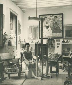 Fritz Henle, 'Frida In Her Studio', 1943