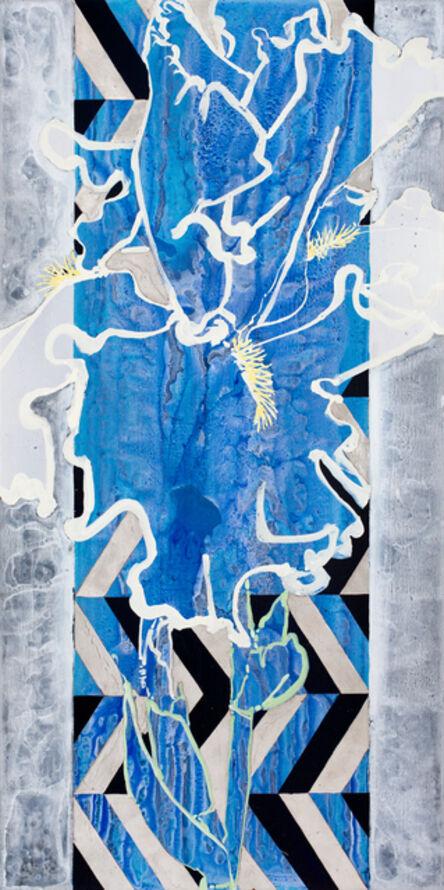 Robert Kushner, 'White Iris', 2017
