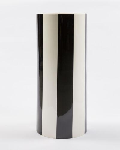 Daniel Buren, 'Les Cent Vases (The Hundred Vases). Tall black cylindrical vase.', 2010