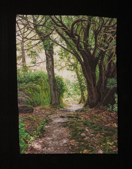 Carol Shinn, 'Trees Along the Path', 2020