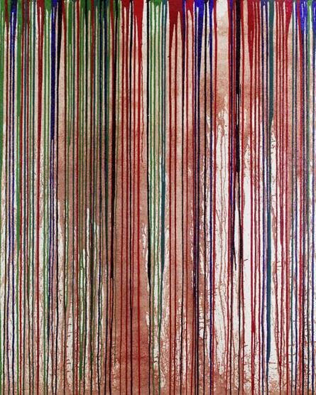 Hermann Nitsch, 'Schüttbild', 2009