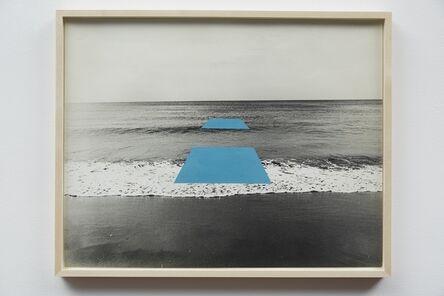 Masafumi Maita, 'Natural line- artificial line', 1971