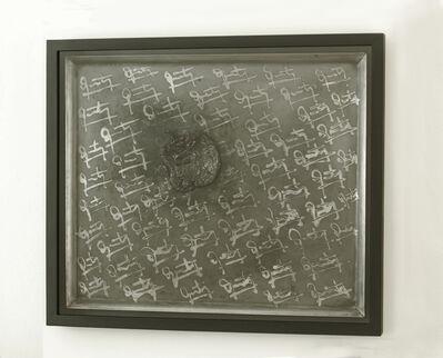 José Quinteros, 'Objeto autoconsumible (Placa Restos) / Self-Consumable Object ', 2017