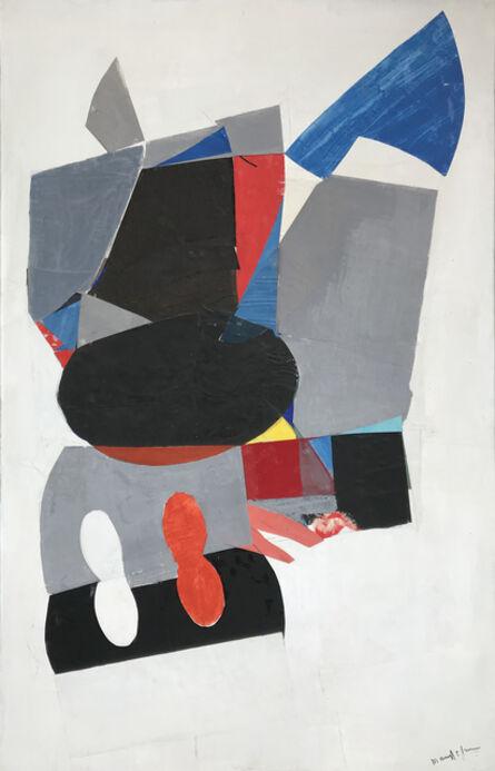 Beatrice Mandelman, 'Red and Blue', 1960-1969