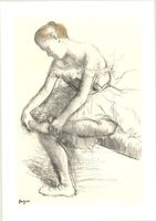 Edgar Degas, 'Dancer Seated', 1998