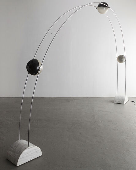 "Studio A.R.D.I.T.I., '""Ponte"" floor lamp with fixtures', 1971"