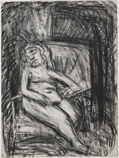Leon Kossoff, 'Sally', 1986