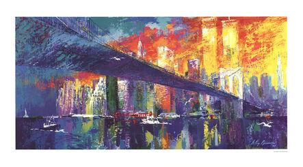 LeRoy Neiman, 'Brooklyn Bridge', 1995