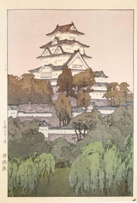 Yoshida Hiroshi, 'Himeji Castle - Morning', 1926