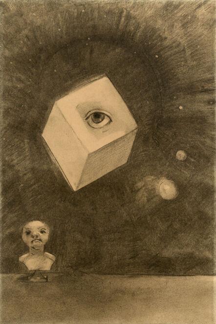Odilon Redon, 'Le Cube (The Cube)', 1880