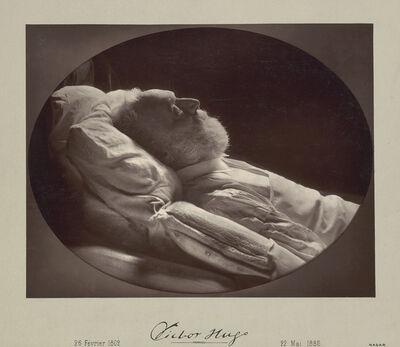 Nadar, 'Victor Hugo on His Deathbed', 1885