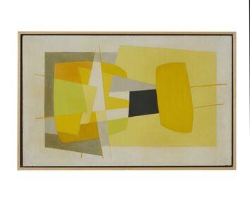 Saloua Raouda Choucair, 'Composition in Yellow', 1962-1965