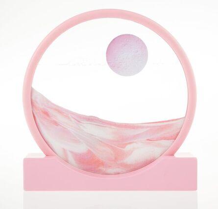 Daniel Arsham, 'Sand Circle (Pink)', 2019