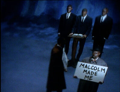 Black Audio Film Collective, '7 songs for Malcom X', 1993