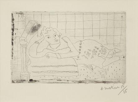 Henri Matisse, 'Figure allongee sur un Lit d'Acajou', 1929