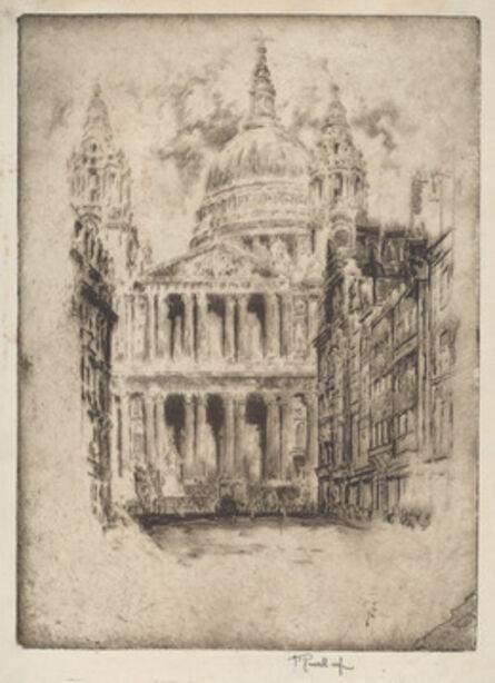 Joseph Pennell, 'St. Paul's, Fleet Street, London', 1905