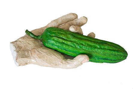 Eduardo Costa, 'Hand with cucumber', 1994-1996