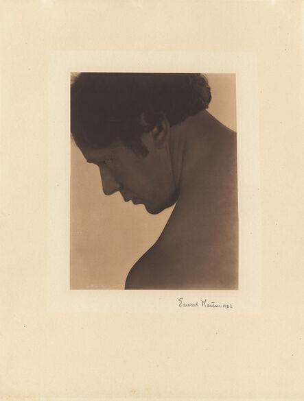 Edward Weston, 'Portrait of a Male Nude (Robert Fuller)', 1922