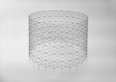 Zachary Eastwood-Bloom, 'Study of Gasometer Structure ', -24
