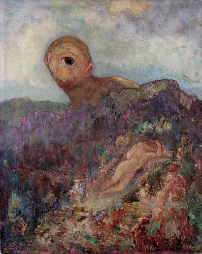 Odilon Redon, 'The cyclops', ca. 1914