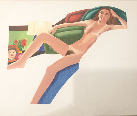 Tom Wesselmann, 'Study for Nude with lamp ', 1977