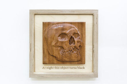 Guy Zagursky, ' At Night this Object turns Black', 2020