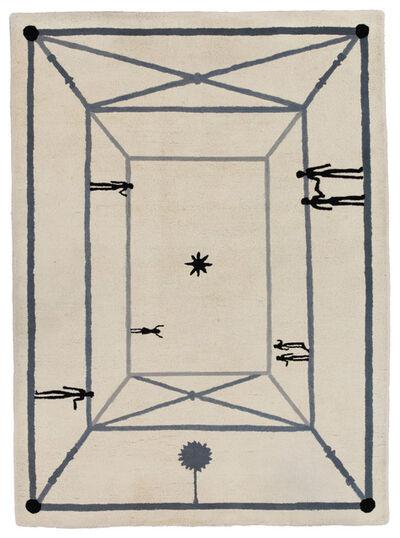 """Diego Giacometti, '""""La Rencontre"""" Carpet'"""