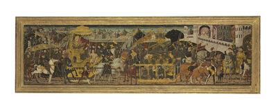 Giovanni di ser Giovanni Guido (called Lo Scheggia), 'The Triumph of Alexander the Great: a cassone front'