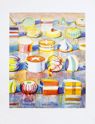 Wayne Thiebaud, 'Display Rows', 1990