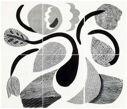 David Hockney, 'Dancing Flowers, May 1986 ', 1986
