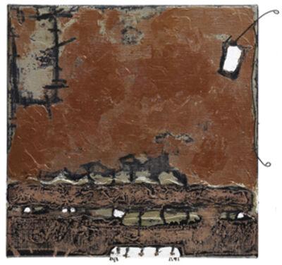 YOLANDA PONG 庞铫, 'Metallic Color and Iron Line 金属色与铁线', 2009