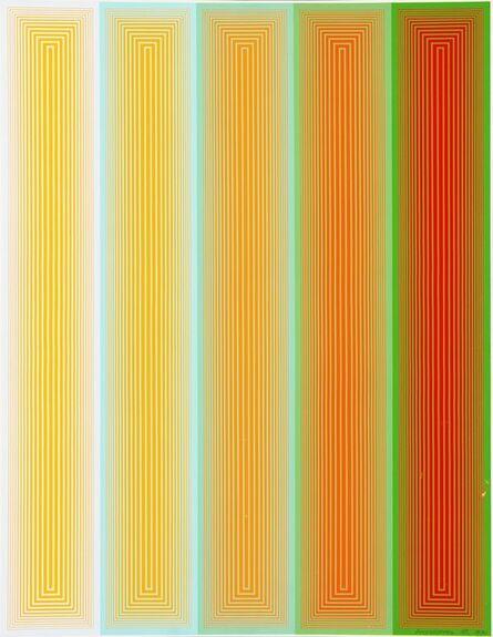 Richard Anuszkiewicz, 'Inward Eye #5', 1970