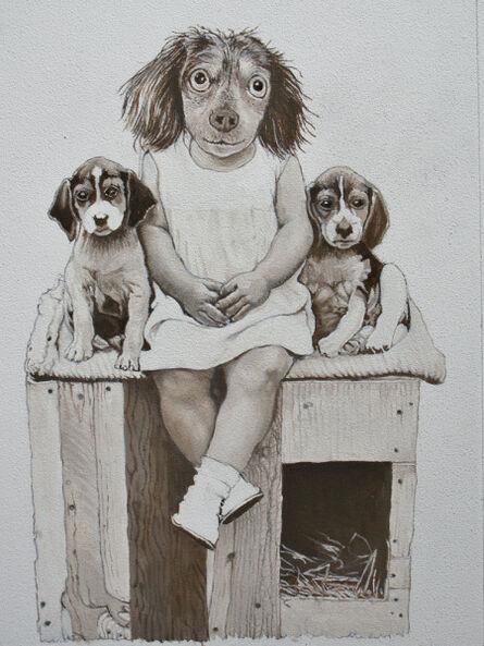 Malcolm Bucknall, 'In the Dog House', 2017