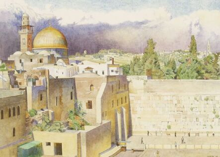 Ceri Shields, ''THE WAILING WALL, THE DOME OF THE ROCK AND THE GARDEN OF GETHSEMANE, JERUSALEM''