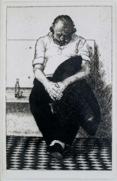 Wilfred Fairclough, 'Tratoria Sleeper, Venice', 1982