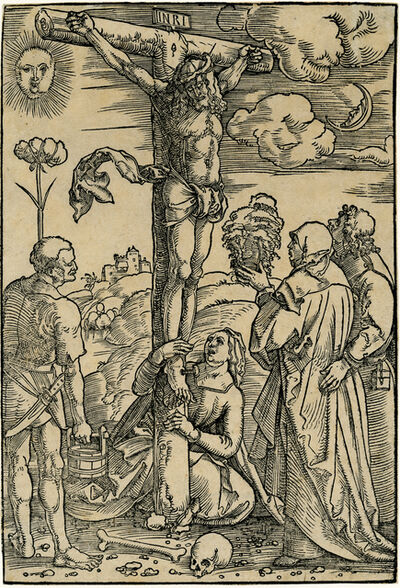 Hans Baldung, 'Christ on the Cross with the Virgin and SS. Longinus, Mary Magdalen, and John', ca. 1505