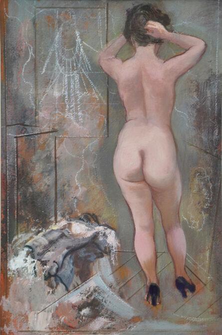 George Grosz, 'MODELL IM STUDIO'