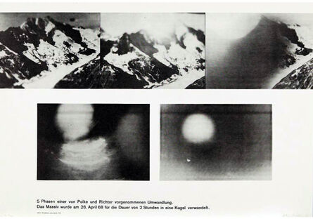 Gerhard Richter, 'Umwandlung (Metamorphosis) - with Sigmar Polke', 1968