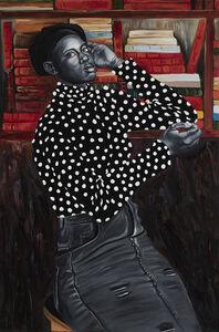 Otis Kwame Kye Quaicoe, 'Amanda Grace in Poka Dot Turtleneck', 2019