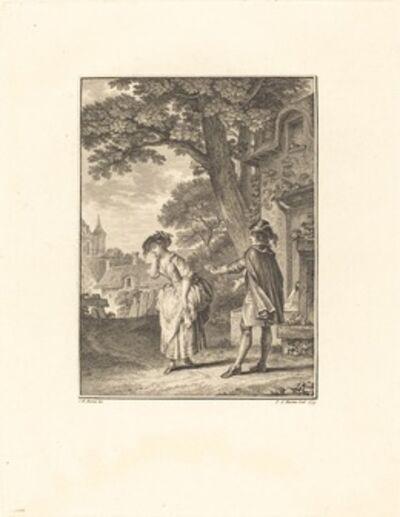 Pietro Antonio Martini after Jean-Michel Moreau, 'Le Devin du Village (Colette Weeping)', 1779