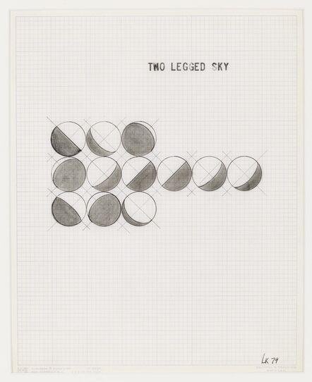 Leandro Katz, 'Two Legged Sky', 1979
