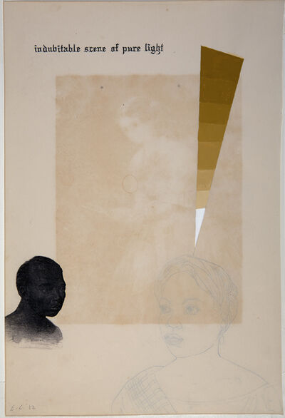 Enrique Chagoya, 'Ghostly Meditations (indubitable scene of pure light)', 2012