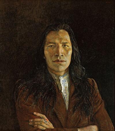 Andrew Wyeth, 'Nogeeshik', 1972