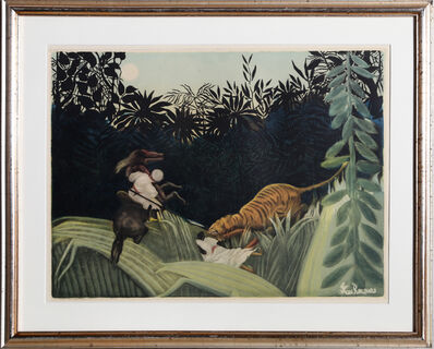 Jacques Villon, ' La Chasse au Tigre', 1924