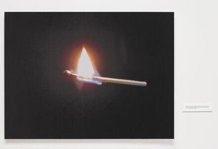 Robert Whitman, 'Burning Match', 2015