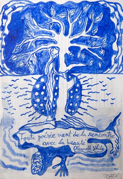Hervé Yamguen, 'Homme à Kenneth White #4', 2020