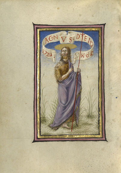Taddeo Crivelli, 'Saint John the Baptist', 1469