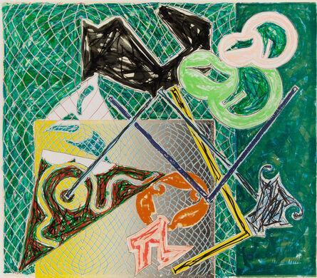 Frank Stella, 'Shards V', 1982