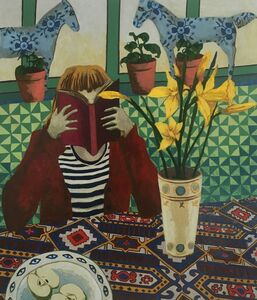 Kate Montgomery, 'Seedlings and Daffodils', 2021